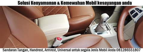 Sedia Gorden Untuk Mobil Avanzaxenia armrest handrest sandaran tangan honda mobilio sedia berbagai armrest handrest universal untuk