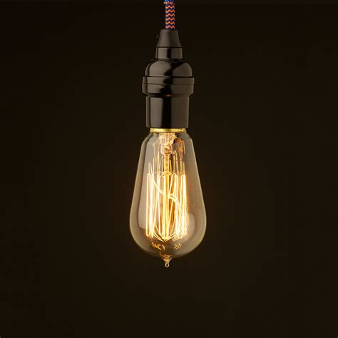 Pendant Light Edison Bulb Bare Bulb Pendant Edison Light Globes Pty Ltd