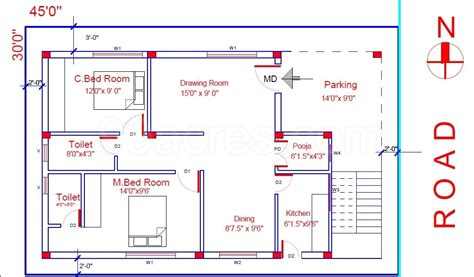 House Plans Under 1000 Square Feet House Plan For 1000 Sq Ft East Facing House Plans 2017