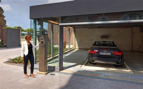 unterirdische garage intelligentes parken in exquisiter wohnanlage am rhein