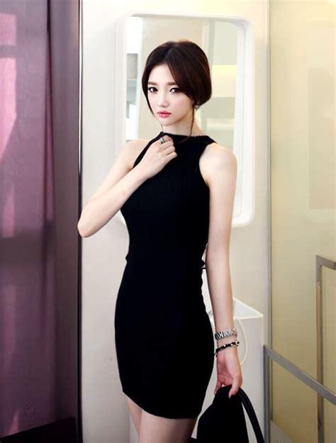 Styles That Stick Black Dress by Dress Asian Style Korean Fashion Clothes