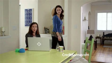 Credit Karma Commercial Actress Talking To Websites | lets determine the hottest babe in commercials may become