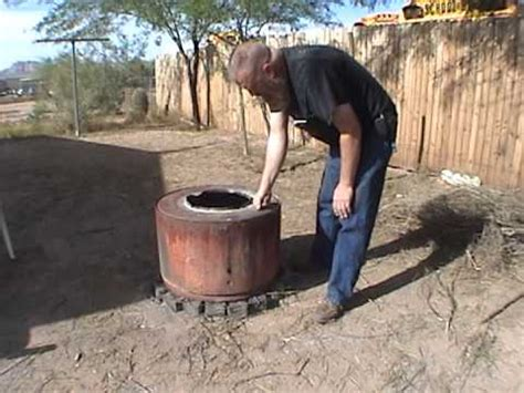 how to put out a in a pit our pit recycled dryer drum