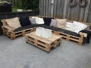 Garden furniture pallets outdoor furniture set diy