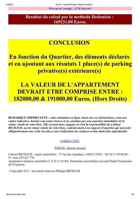 Cabinet D Expertise Immobilière emali fr cabinet richaud expert immobilier