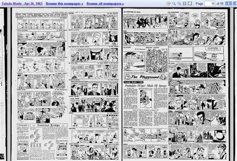 newspaper comic section chris sobieniak s comics stories tintin en fran 231 ais