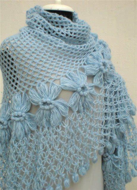 chales en crochet de mis manos tejidos y mas lindos chales a crochet