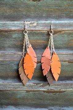 angelus paint thailand leather earrings on