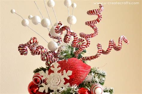 Awesome Best Artifical Christmas Trees #4: Peppermint-tree-topper.jpg