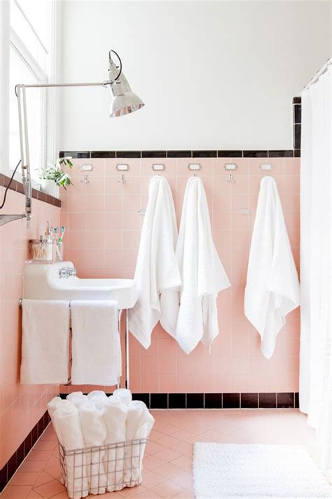 36 retro pink bathroom tile ideas and pictures