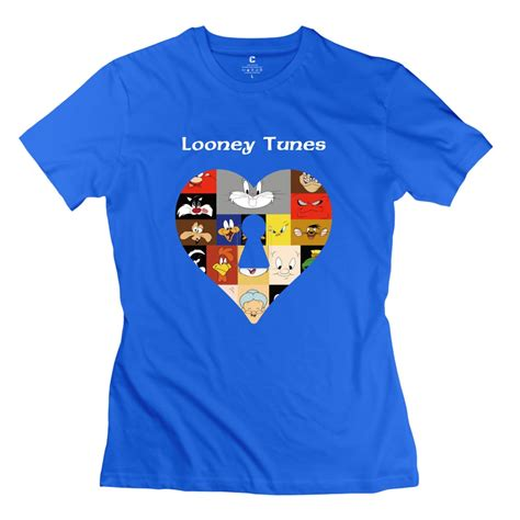 Looney Blouse By Aiko Store tops looney tunes t shirt fashion o collar womenfishing t shirt for womens in t shirts from