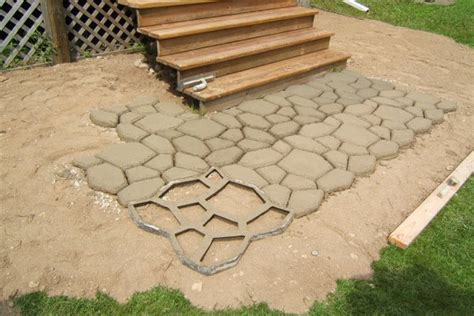 diy cement paver patio hardscaping an alternative to a plant based landscape doityourself