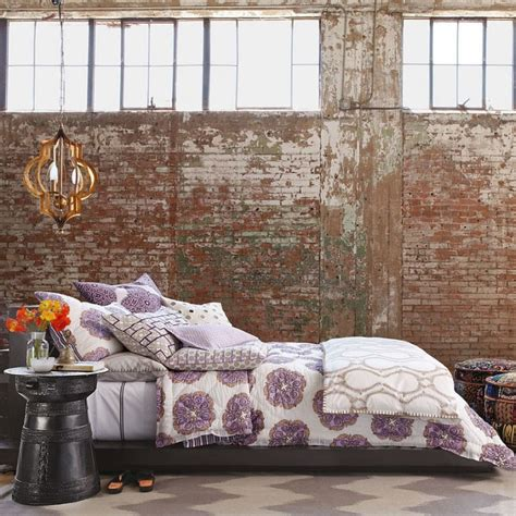 exposed brick bedroom inspiring industrial interiors using rustic brick walls