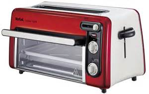 Mini Toaster Toast N Grill Rouge Inox Tefal Tl600511 Achat Vente