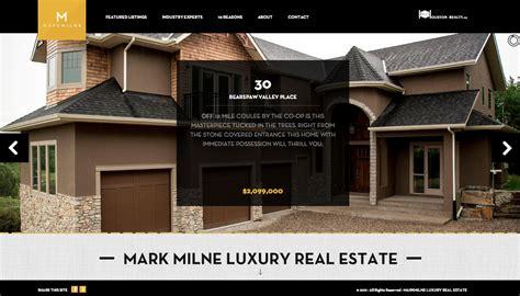 milne luxury real estate creative