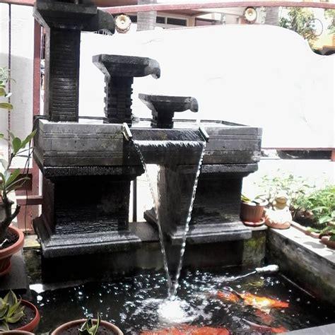 Air Mancur Kolam 33 desain kolam ikan minimalis di lahan sempit terbaru