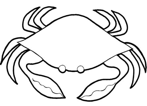 blue crab coloring page crab coloring pages free printable coloring pages simple