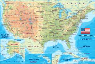 america on a map usa map