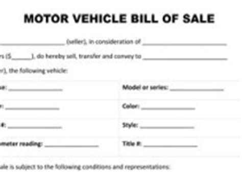 Free Printable Sale Agreement Form Form Generic Motorcycle Purchase Agreement Template