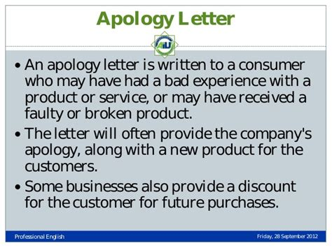Apology Letter For Bad Service Experience Types Of Business Letters