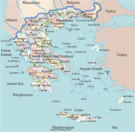 map of greece islands absolut maps of greece