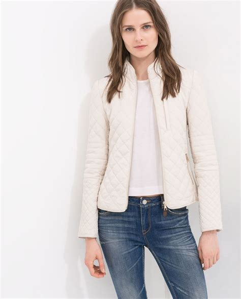 Zara Quilted Vest by Quilted Jacket From Zara For The Winter