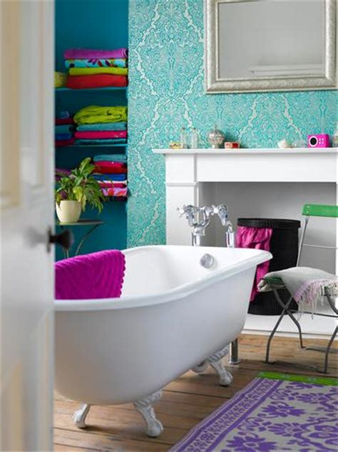 bright bathroom ideas 50 bright and colorful room design ideas digsdigs