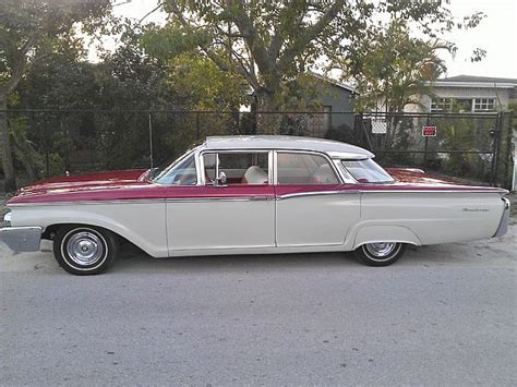 Painted Upholstery 1960 Mercury Monterey For Sale Hialeah Florida