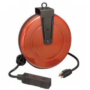Extension Cord Reel Wall Mount Craftsman Cord Reel Retractable With 30 Ft Extension