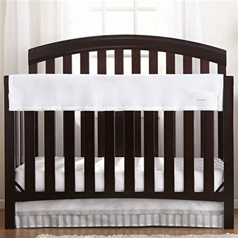 White Crib Rail Cover by Breathablebaby Railguard Crib Rail Cover White Toddler