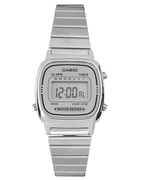 casio silver mini digital where to buy how to wear
