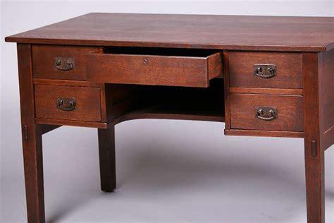 stickley desk l jg stickley 5 drawer desk california historical design
