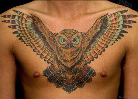 owl tattoo chest design 61 brilliant owl tattoos for chest