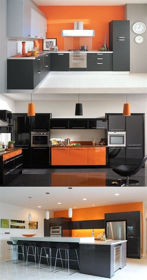 fabulous kitchen contemporary kitchen chicago by have a fabulous contemporary kitchen with orange and black