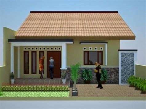 model rumah sederhana tapi indah elegan dan kelihatan modern terbaru 2017