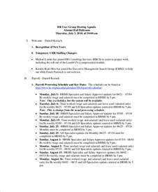 Human Resource Budget Template Budget Meeting Agenda Template 10 Free Word Pdf