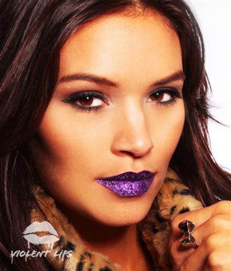 violent lip tattoos violet glitteratti tattooforaweek temporary