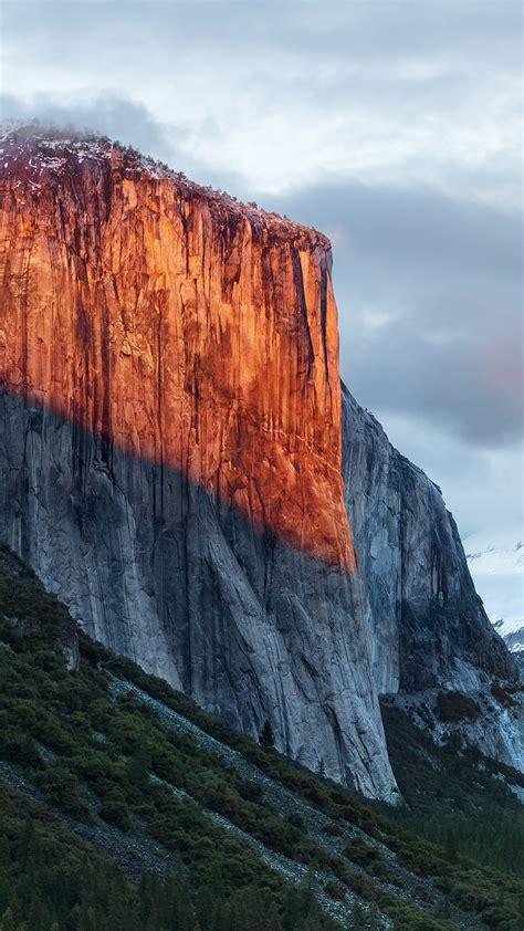 wallpaper el capitan mountain yosemite national park