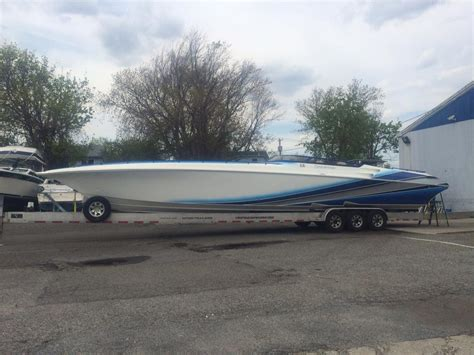 fountain boats jobs amazing paint job by rage powerboats mark schnepf