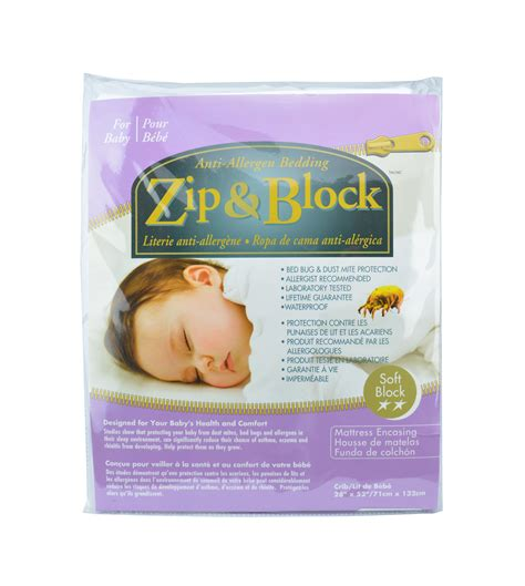 crib mattress encasement zip block waterproof crib mattress encasement
