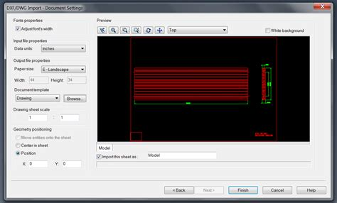 dwg format file open opening a dxf dwg file solidworker