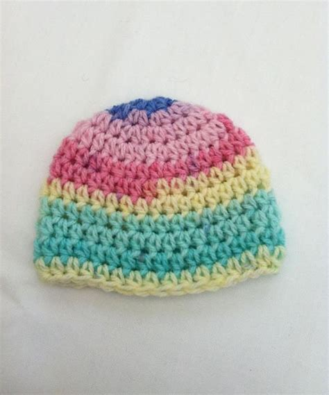 baby hat pattern dk yarn baby beanie hat crochet pattern by little lighthouse yarns