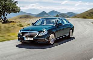 Mercedes E350 Official 2017 Mercedes E Class Gtspirit