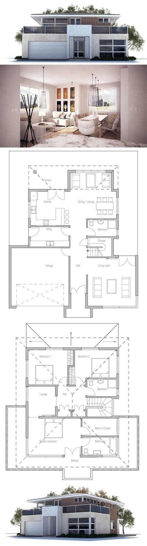 simple modern house floor plans simple modern house plans brucall