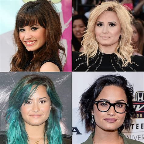 did demi lovato have blond hair demi lovato hair pictures popsugar latina