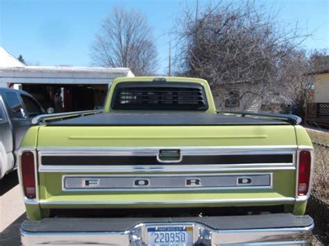 1975 ford f100 ranger 1975 ford f 100 ranger xlt 390 v8 4wd truck for sale