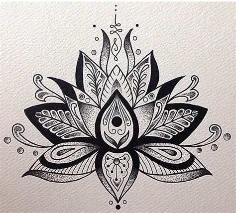 tattoo mandala zeichnen image result for lotus tattoo designs zeichnen