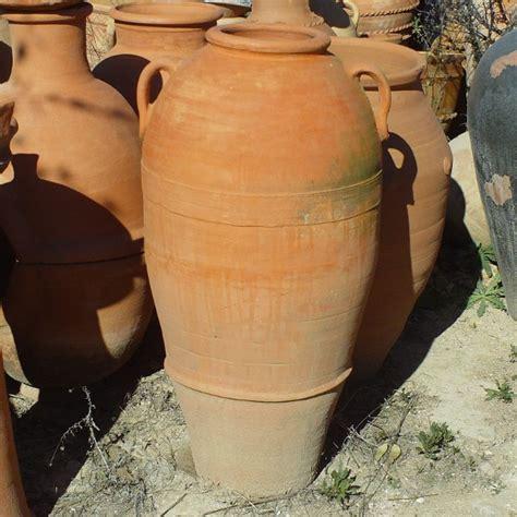 amphora terracotta  garden decoration moroccan handicraft