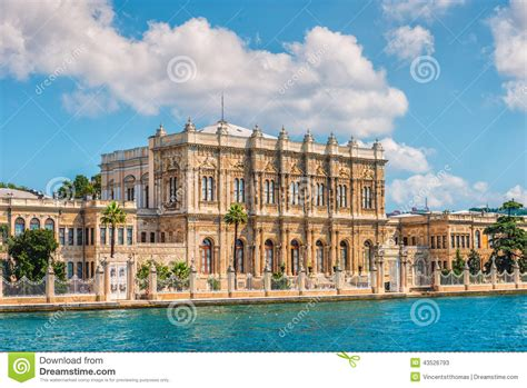banks in istanbul dolmabahce palace stock photo image 43526793