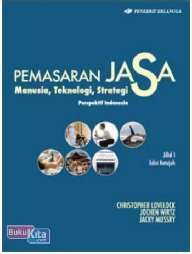 Buku Pemasaran Jasa Jl 2 Ed 7 bukukita pemasaran jasa perspektif indonesia jilid 1